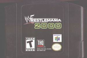 WWF WrestleMania 2000 (USA) Cart Scan